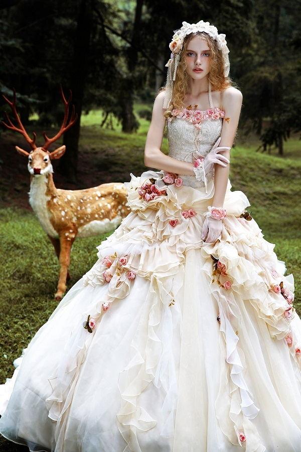 时尚品牌Tiglily蔻铃兰,引领亚洲婚纱仙女风